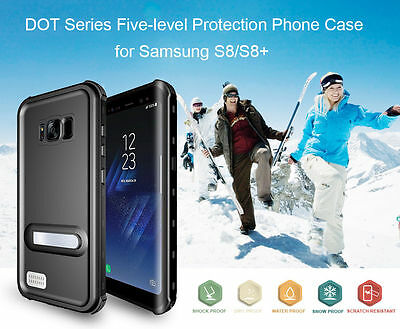 For Samsung Galaxy S8 Plus Shockproof Full Body Cover Snow Dust Water Proof Case