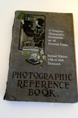 Vintage Photographic Reference Book 1906, J McIntosh, Ed, 2nd Ed. 15th to 20,000