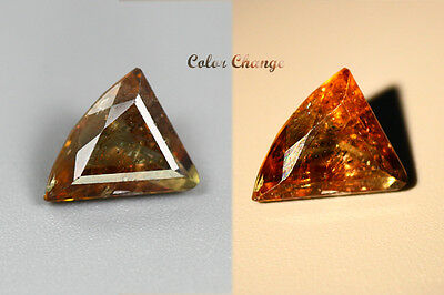 1.955 Ct  Earth Mined Unique Dazzling 100% Natural Dancing' Color Change Axinite