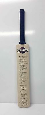 Australia Cricket Greats Ashes Test Hand Signed Bat Unframed Amazing Special