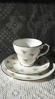 Duchess Bone China Cup Saucer & Side Plate