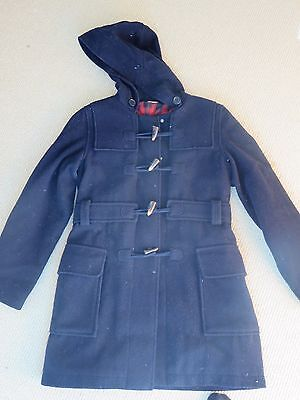 Country Road Girls Navy Wool Duffle Coat Size 10