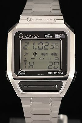 Omega Sensor Watch Quartz LCD Cal. 1640 NOS