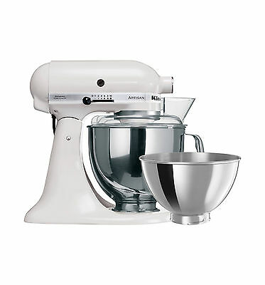 NEW KitchenAid Artisan KSM160 White Stand Mixer w/ Spiraliser