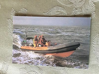 A3a postcard unused rnli atlantic inshore lifeboat