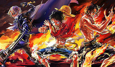 #149 Custom Playmat One Piece Sabo Luffy Ace TCG CCG Play Mat Work Mat Mouse Pad
