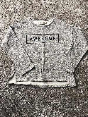 Girls Next Awesome Sweater Age 9