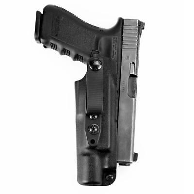 Raven Concealment Systems VG3X3ULBKTSL Vanguard 3 Light Compatible IWB Holster