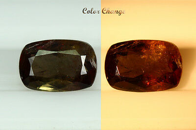 1.370 Ct  Earth Mined Unique Dazzling 100% Natural Dancing' Color Change Axinite