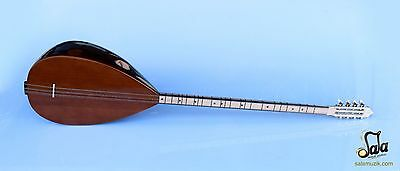 Turkish Quality Long Neck Walnut Baglama Saz For Sale Asl-252G