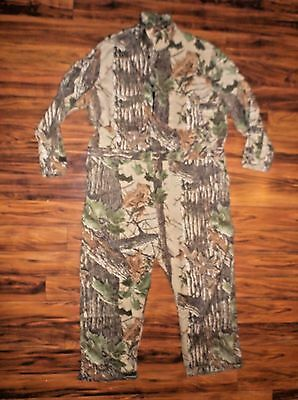 Walls coveralls Camo mens size 2XL chest (50-52) bow hunting soft zip up