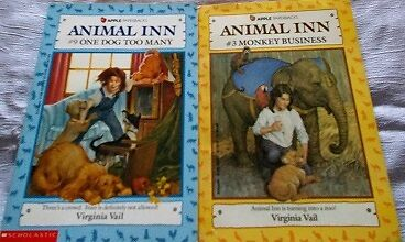Animal Inn books by Virginia Vail. Set of 2