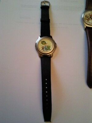 Disney Parks Cast members Watches A Bugs Life  Large Dial Black Strap