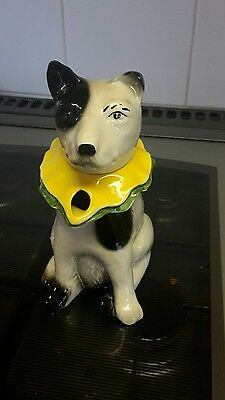 Dog  teapot  by Tony  wood excellent condition