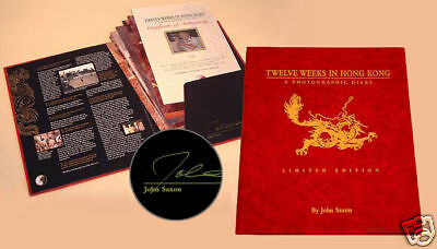 Twelve Weeks in Hong Kong, Bruce Lee, Enter the Dragon Signed by John Saxon