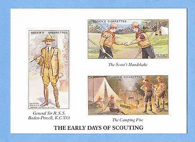 Postcard - The Early Days of Scouting