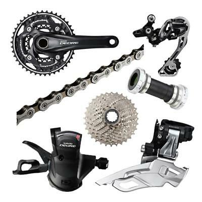 Shimano Deore M610 MTB Groupset 10 speeds 7pcs 3*10S