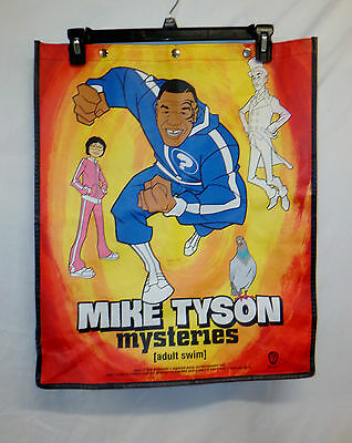 "Mike Tyson '14 San Diego Comic Con Mysteries Backpack Bag WB Large 22x18"" Exclsv"