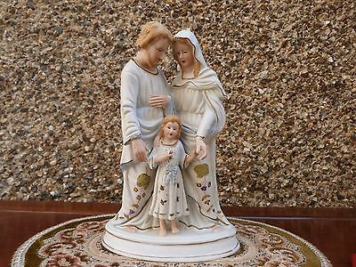 Vintage/Antique Bisque Holy Family Figurine