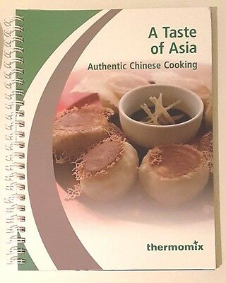 Thermomix Cookbook: A TASTE OF ASIA *BRAND NEW* FREE EXPRESS POST *