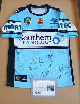 Cronulla Sharks  2016 Nrl Premiers Signed Limited Edition Official Jersey