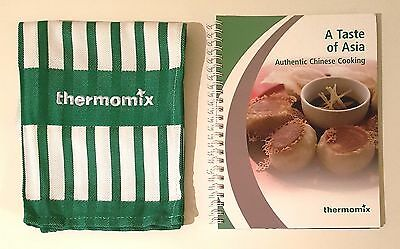 Thermomix Cookbook: A TASTE OF ASIA & Tea Towel *BRAND NEW* FREE EXP POST *