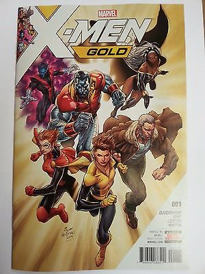 X-Men Gold #001 1st Printing Bagged & Boarded Excellent Condition