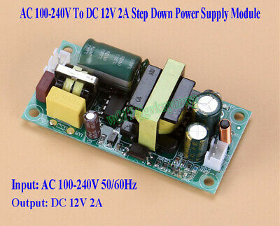 AC 100-240V To DC 12V 2A Buck Converter Isolated Step Down Power Supply Module
