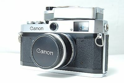 Canon P 35mm Rangefinder Film Camera  w/50mm F1.8 Lens  w/Meter  SN733770