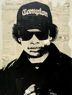 "013 Straight Outta Compton - Ice Cube MC Ren HIPHOP Moive14""x18"" Poster"