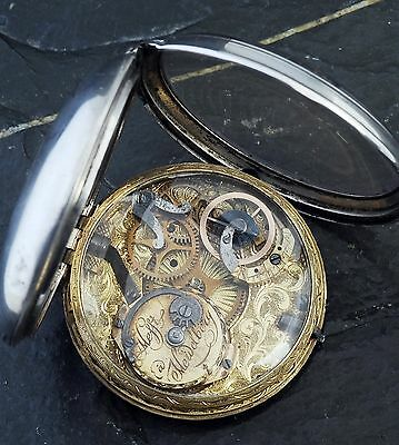 Museum Piece, Primitive Pocket Watch C.1775, Very Very Rare, Working