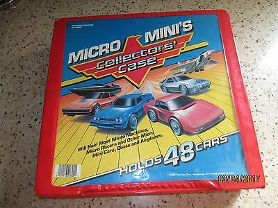 Micro Machines Minis Collectors' Case 42 Cars, Trucks and planes. Huge Toy Set L