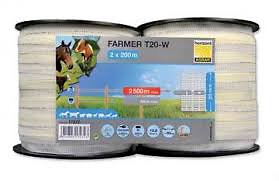 Horizont Electric Fencing Tape Twin Pack 200m x 20mm