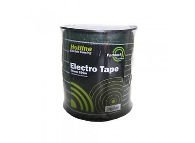Paddock Electric Fencing Tape 20mm x 200m Green