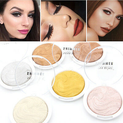 6 Colors Shimmer Contour Powder Highlighter Bronzer High Light Makeup Cosmetic