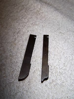 2 STANLEY Cutters for No. 45 or 55 planes