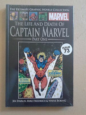 MARVEL ULTIMATE GRAPHIC NOVEL COLLECTION The Life and Death of Capt Marvel (P1)