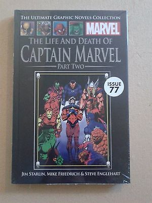 MARVEL ULTIMATE GRAPHIC NOVEL COLLECTION The Life and Death of Capt Marvel (P2)