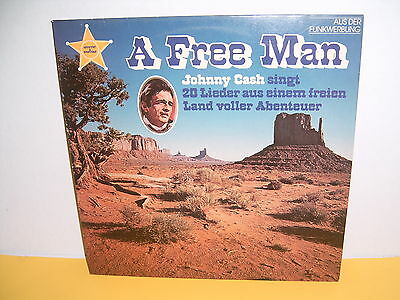Lp - Johnny Cash - A Free Man - Cbs 85 032