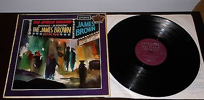 JAMES BROWN and the famous flames : LIVE AT THE APOLLO :1964 LONDON AMERICAN L.P