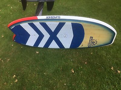 slingshot  lift full carbon foil and alien air board bought brand new in July 16