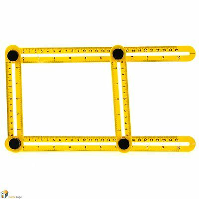 Multi-Angle Measuring Ruler Easy Angle Watcher Extreme Ruler
