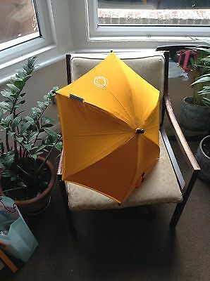 Bugaboo Yellow Umbrella With Uv Protection