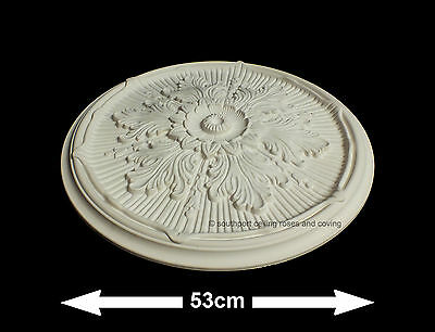 53cm Diameter, Lightweight Ceiling Rose (made of strong resin not polystyrene)