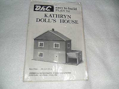 Make your own, Kathyrn Dolls House  instructions only  brand new
