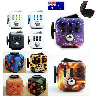 Fidget Cube Toy Stress Relief Focus For Adults Children 6 ADHD AUTISM Xmas Gift