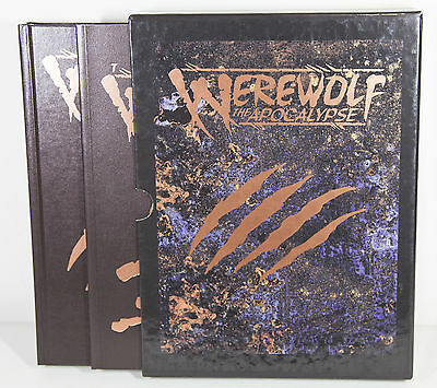 Werewolf The Apocalypse Rulebook & Art Book - Roleplaying Game - Special Edition