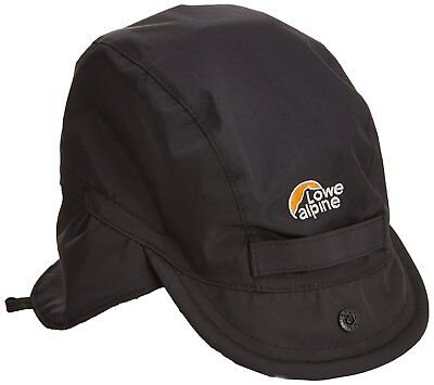 Lowe Alpine Mountain Cap Black (Waterproof) RRP £30.00