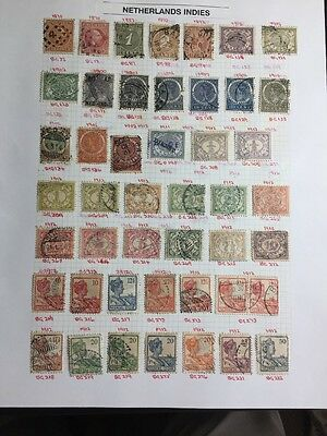 NETHERLANDS INDIES 1870-1941 Used Stamps ,very Good Post Marks