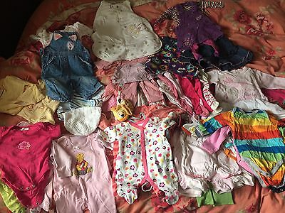 Baby Girl Clothes 0-3 3-6 Months Bundle
